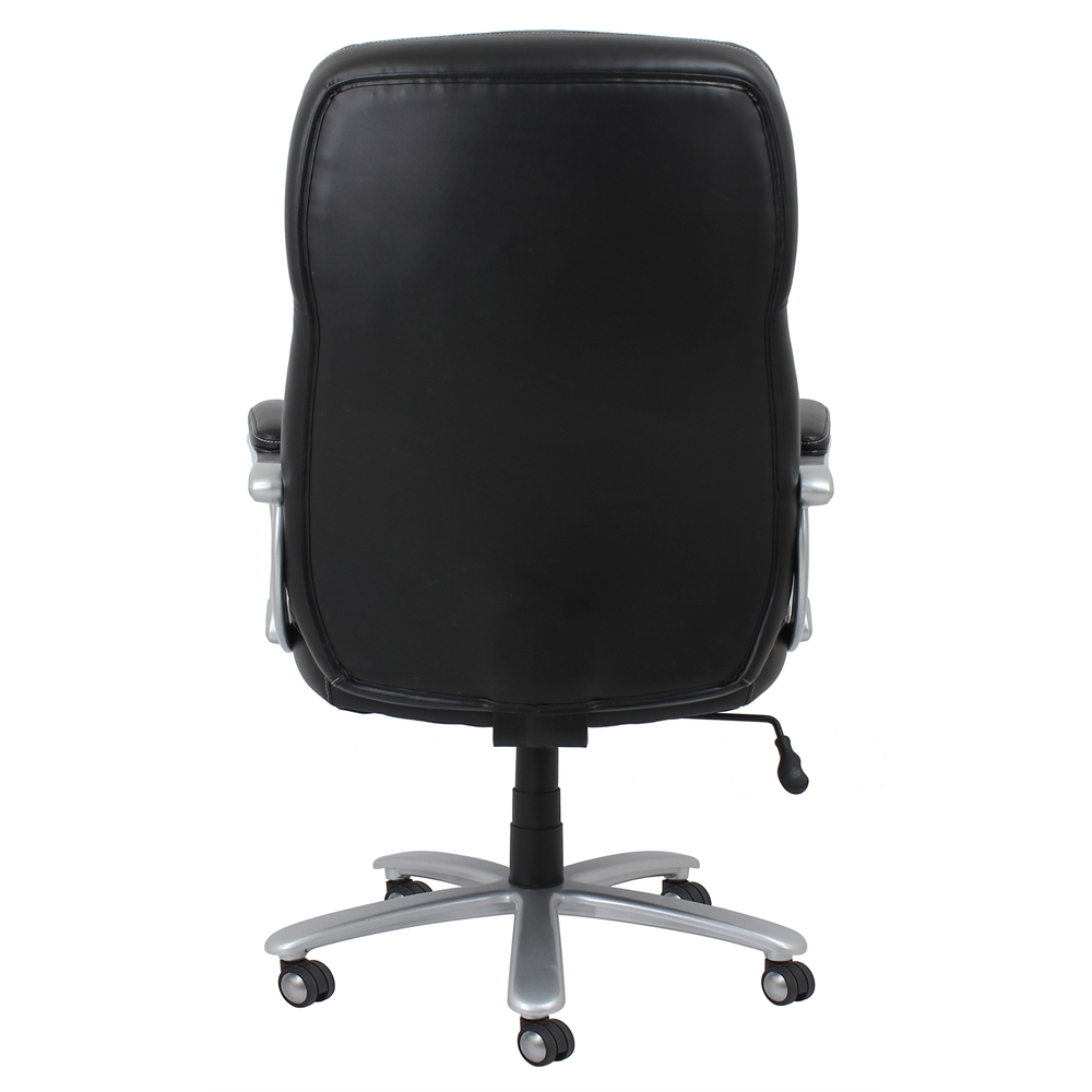 Big And Tall Leather Executive Office Chair With Arms