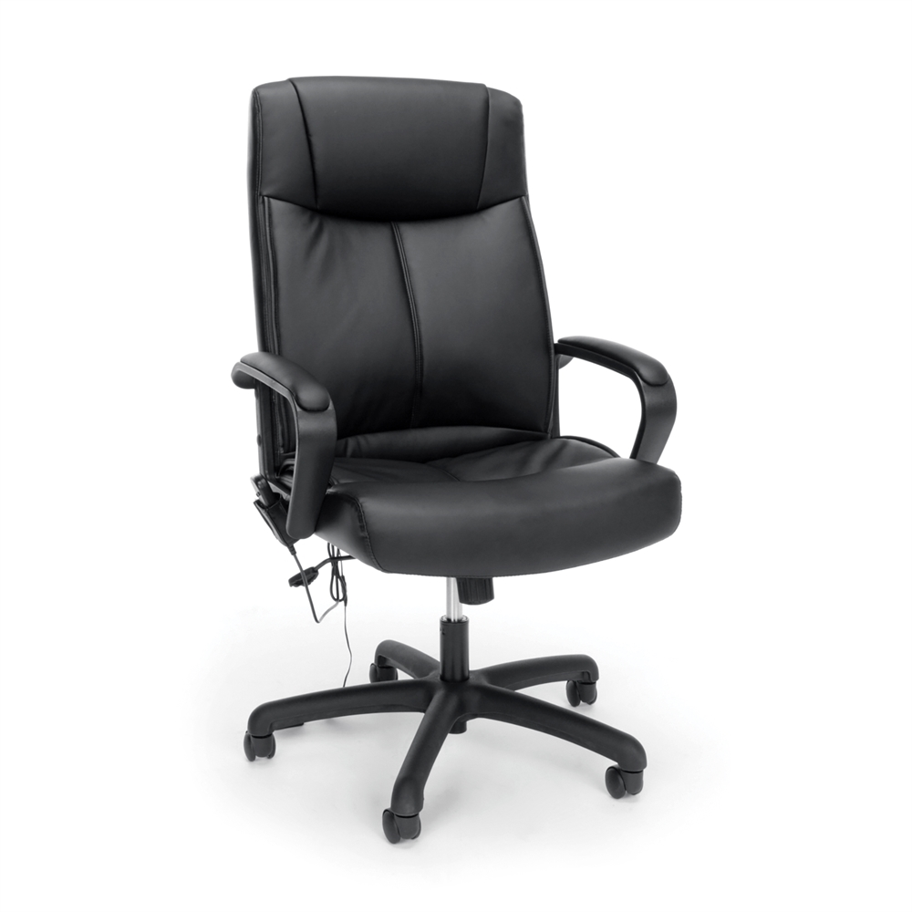 Vibrating Massage High Back Leather Executive fice Chair