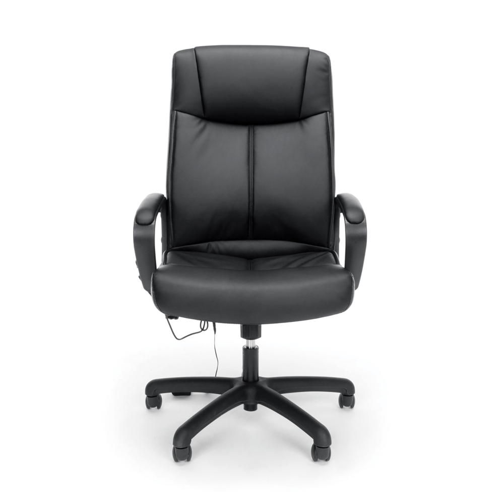 Vibrating Massage High Back Leather Executive Office Chair