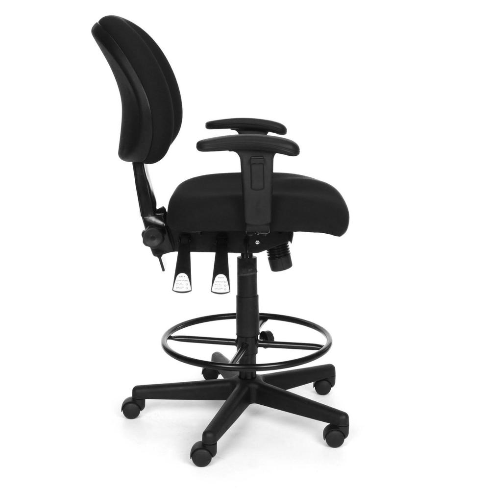 OFM Model 241-AA-DK Multi-Adjustable Upholstered Task Chair with Arms. Picture 4