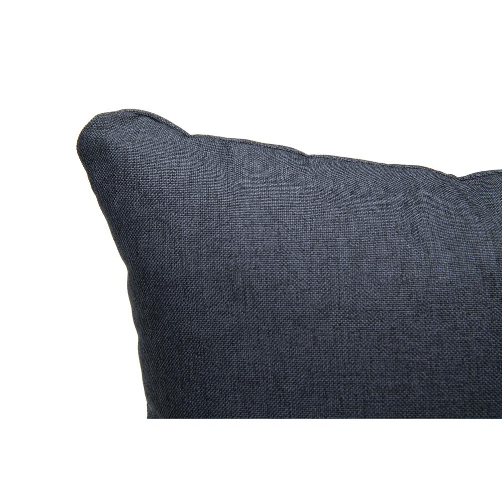 161 Collection Mid Century Modern 2-Pack 18 x 18 Accent Pillows, Navy. Picture 6
