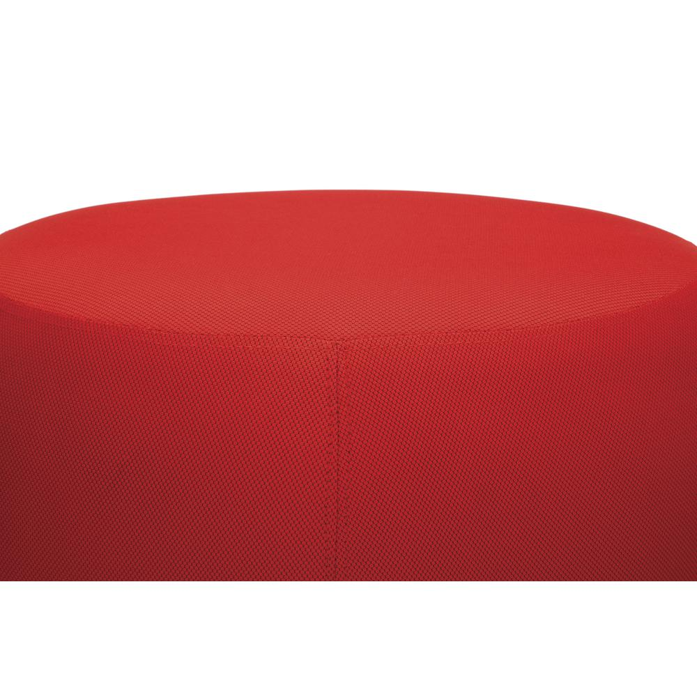 OFM Jupiter Series Fabric Ball Stool, in Red (2001-2312). Picture 6
