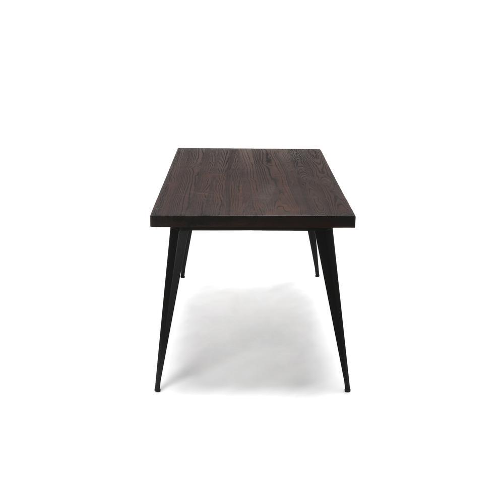 "OFM Edge Series 62"" Modern Wood Desk - Walnut (33362-WLT). Picture 5"