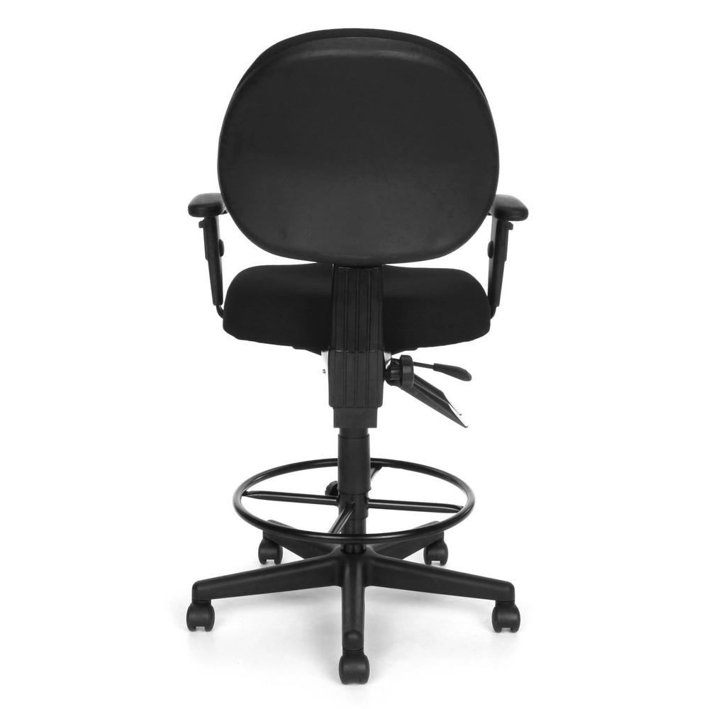 OFM Model 241-AA-DK Multi-Adjustable Upholstered Task Chair with Arms. Picture 5