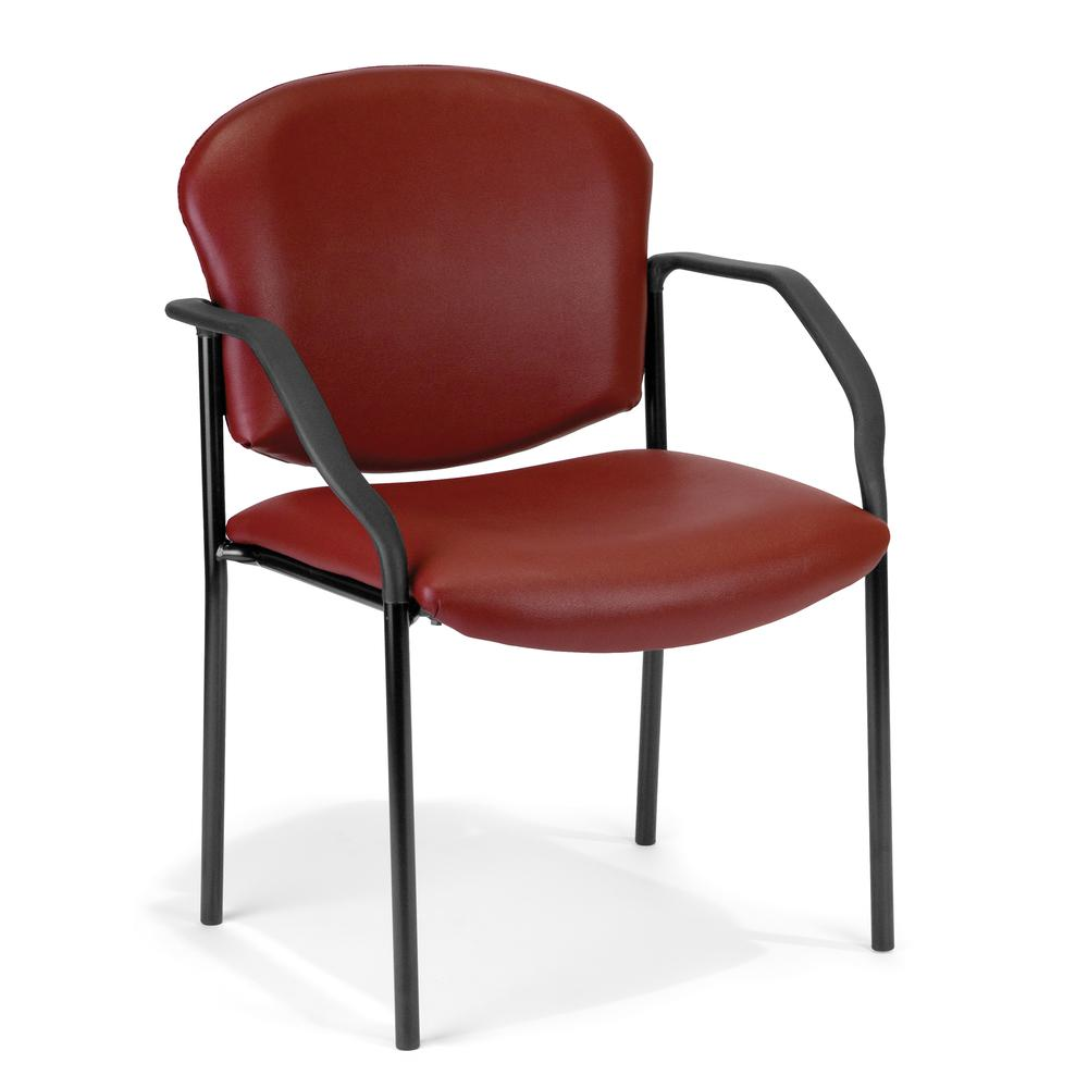 OFM Manor Series Model 404-VAM Guest , Reception Chair with Arms. Picture 1