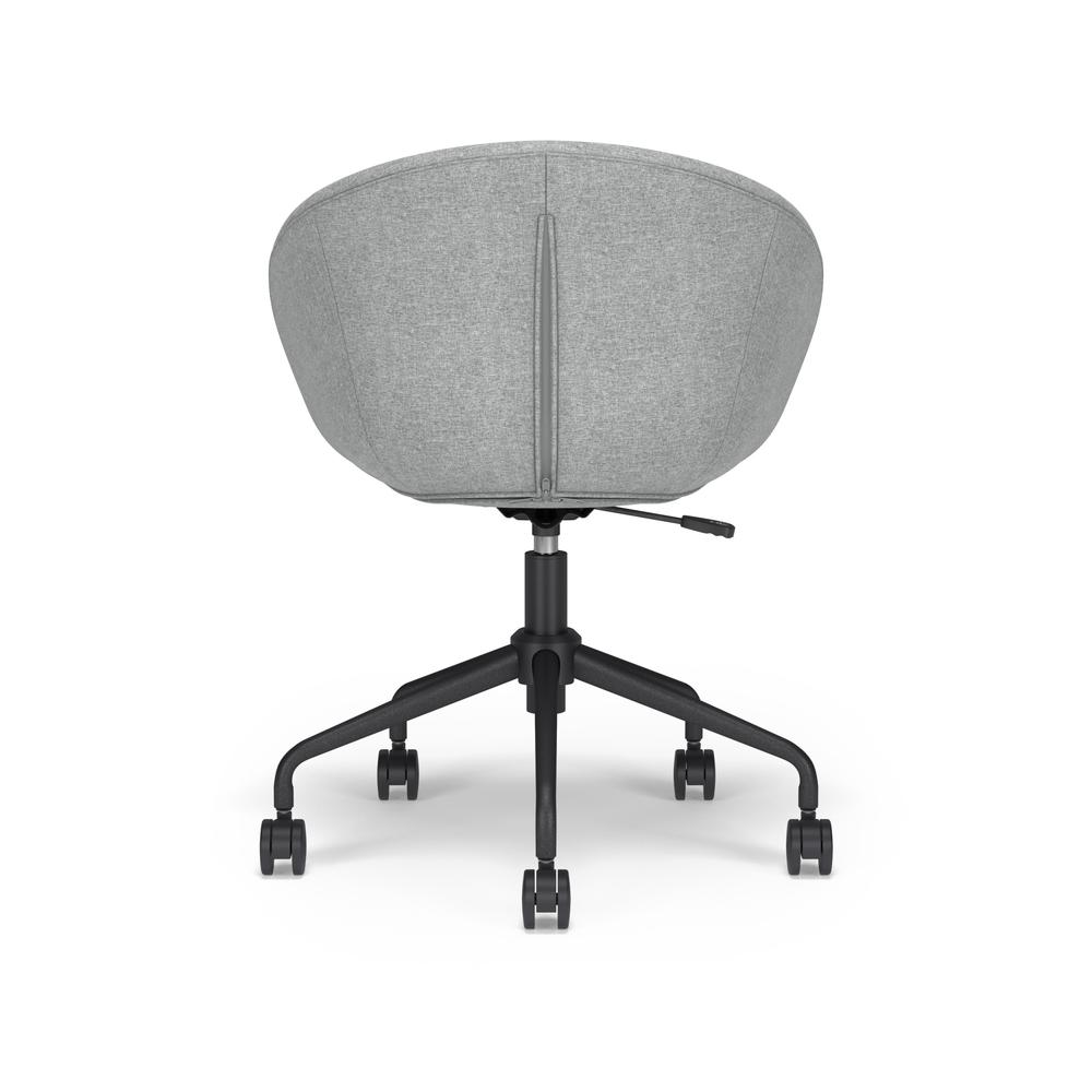 HON Basyx Monroe Fabric Upholstered Task Chair, Office Chair, in Gray (BSX101VA19T). Picture 3