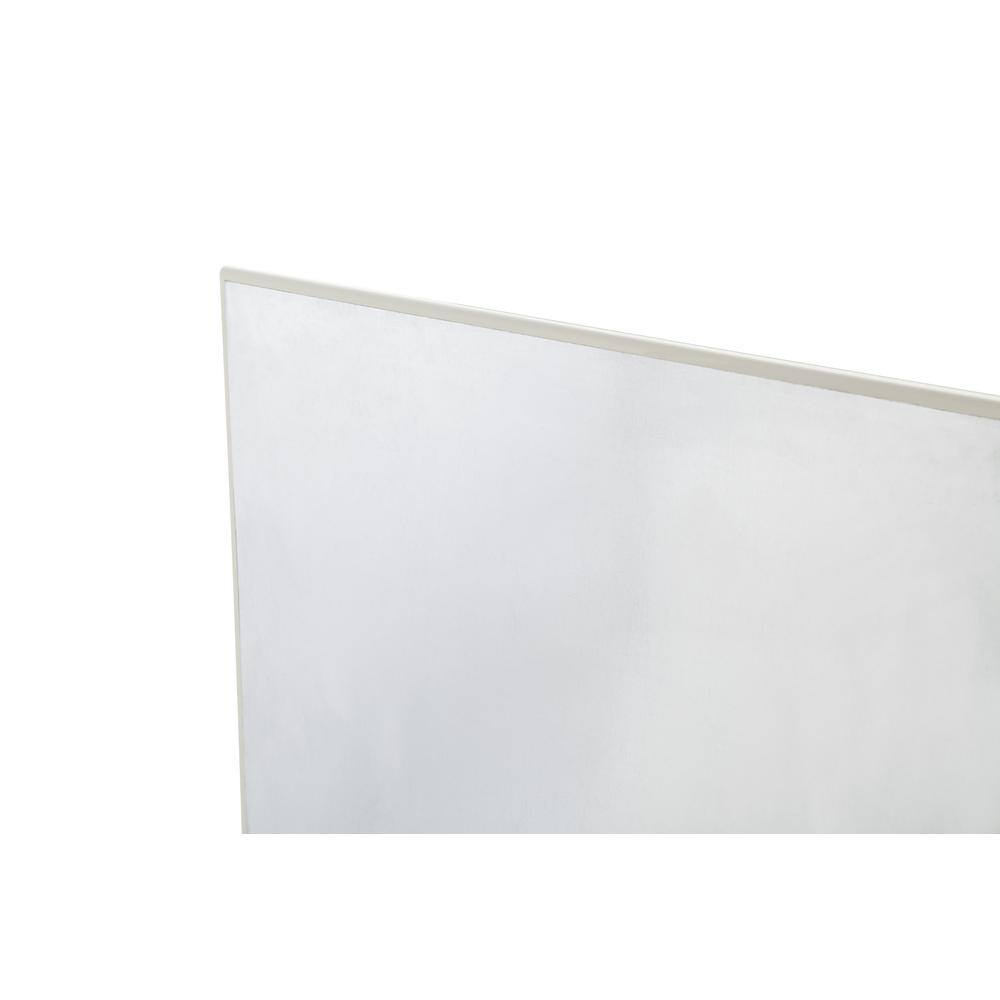 OFM Core Collection Magnetic Glass Whiteboard with Magnetic Marker Caddy, 47 x 30 (GB4730-REC-WHT). Picture 6