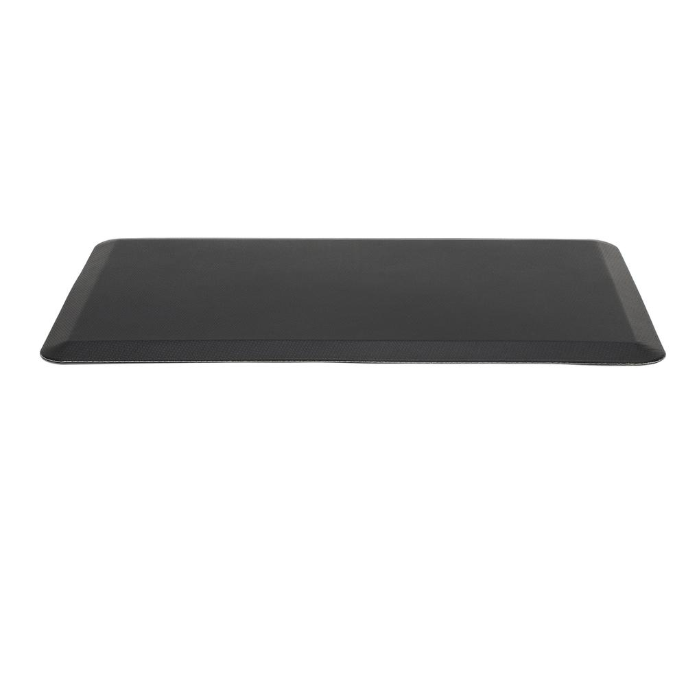 "Essentials by OFM ESS-8820 20"" x 36"" Anti-Fatigue Comfort Mat, Black. Picture 3"