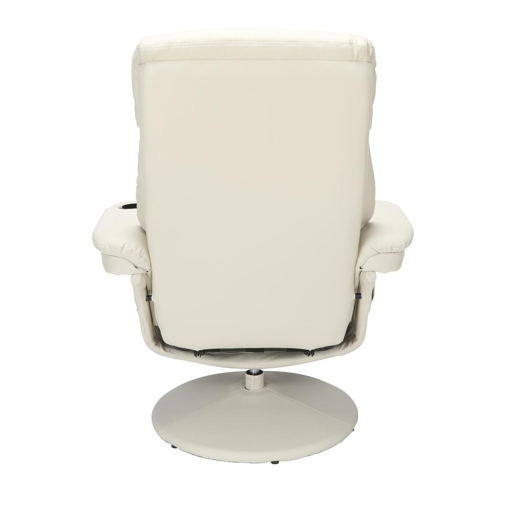 Essentials Collection Home Entertainment Recliner, in Beige (ESS-7070-BGE). Picture 3