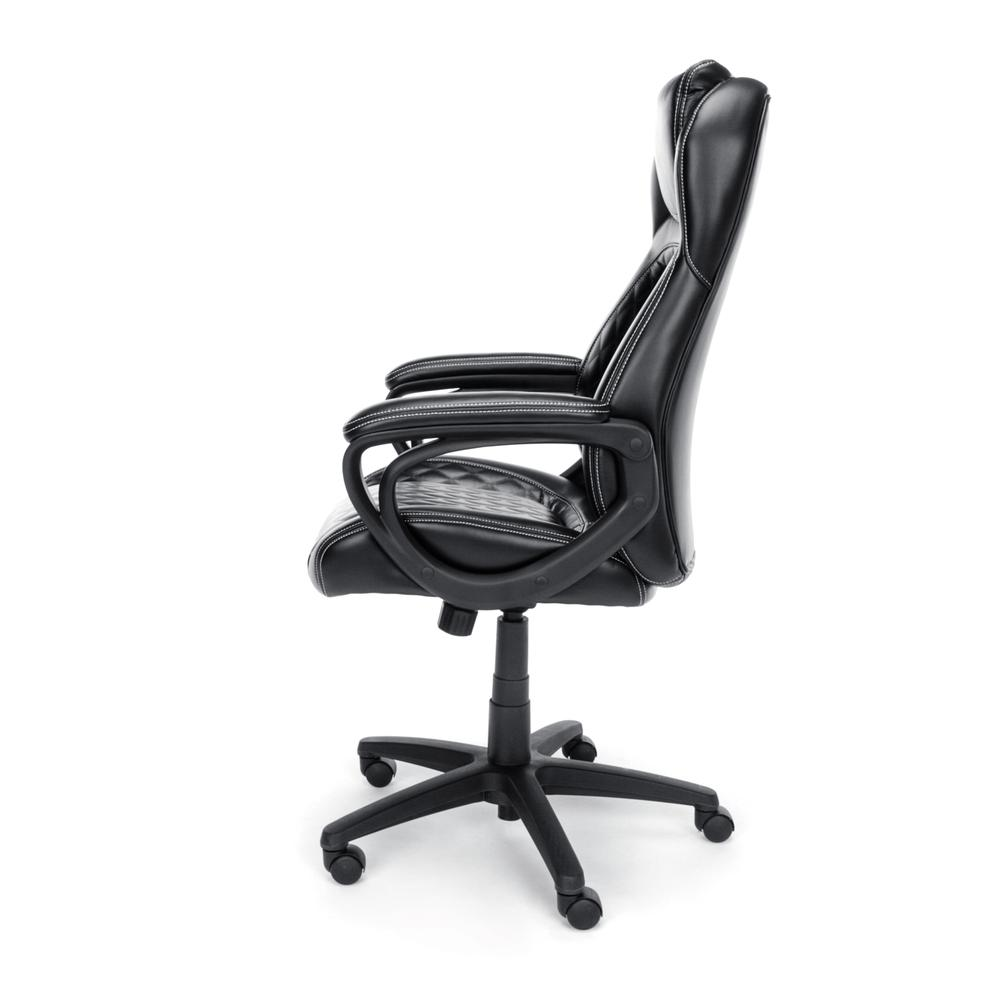 OFM ESS-6060 High-Back Racing Style Bonded Leather Chair. Picture 5