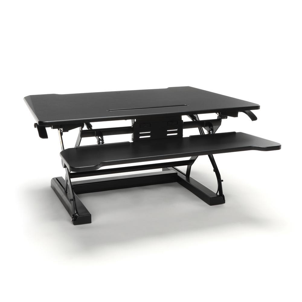 OFM Collection Adjustable Desktop Riser, Standing Desk Converter. Picture 1