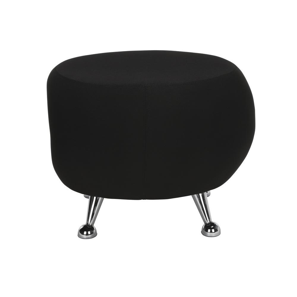 OFM Jupiter Series Fabric Ball Stool, in Black (2001-2327). Picture 2