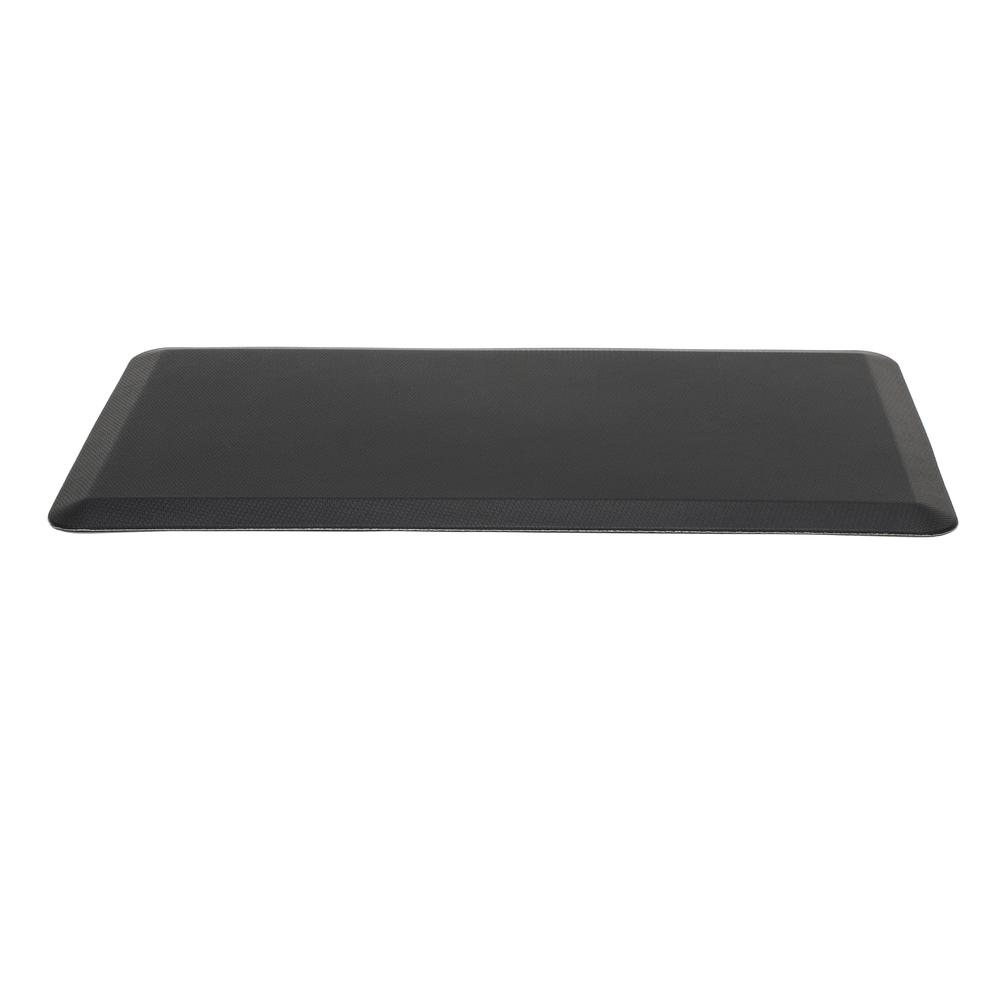 "Essentials by OFM ESS-8820 20"" x 36"" Anti-Fatigue Comfort Mat, Black. Picture 2"