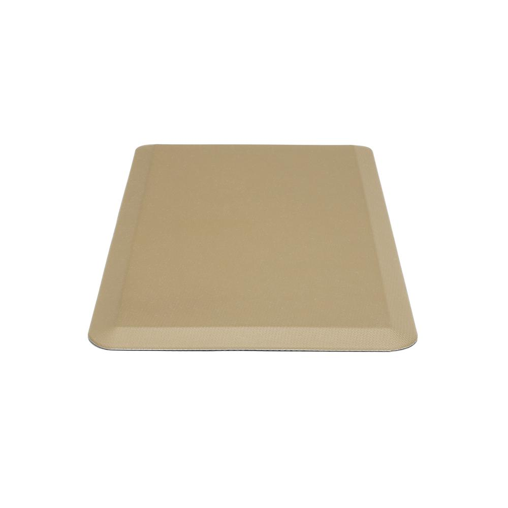"Essentials by OFM ESS-8820 20"" x 36"" Anti-Fatigue Comfort Mat, Tan. Picture 4"