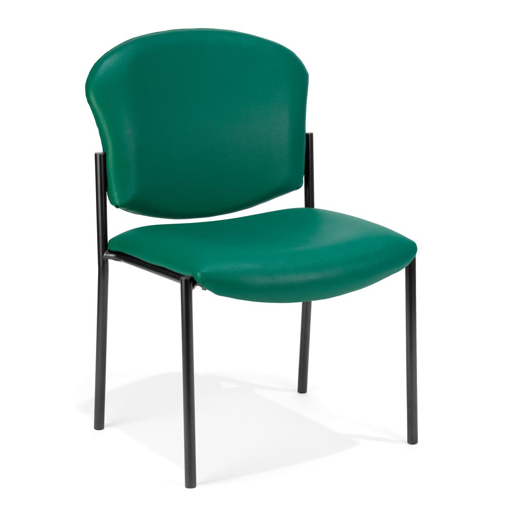 OFM Manor Series Model 408-VAM Armless Guest , Reception Chair. Picture 1