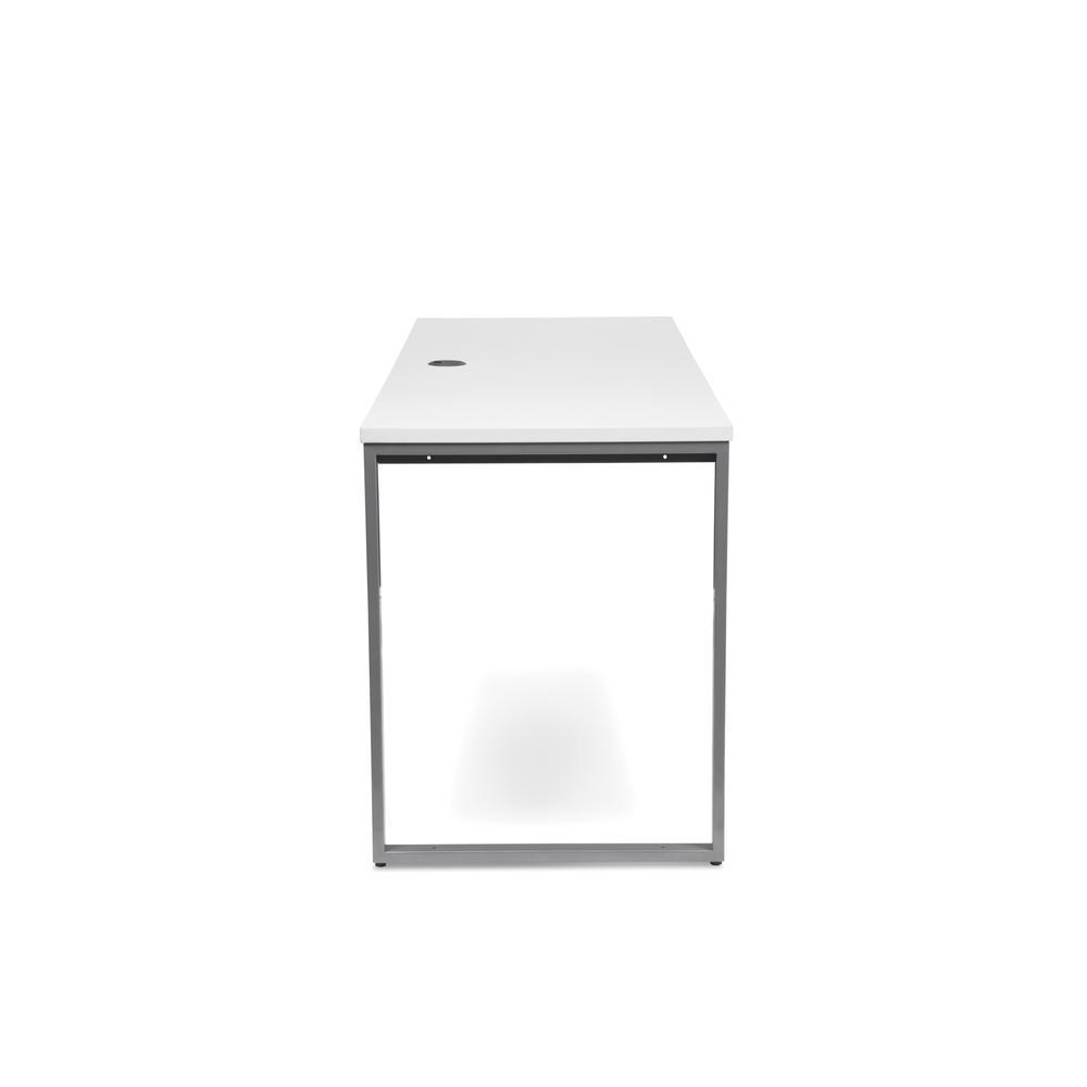 OFM Fulcrum Series 66x24 Credenza Desk, Desk Shell for Office, White (CL-C6624-WHT). Picture 4