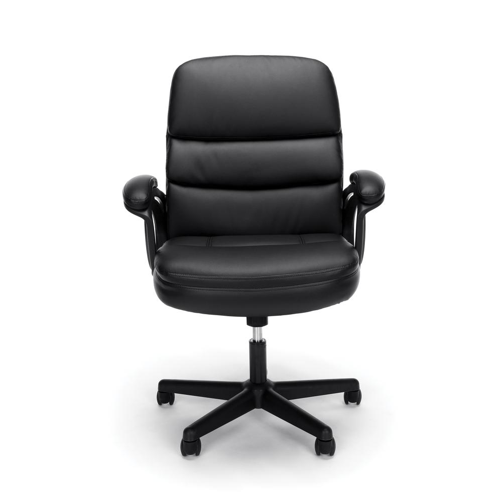OFM ESS-6025 Bonded Leather Manager's Chair with Arms. Picture 2