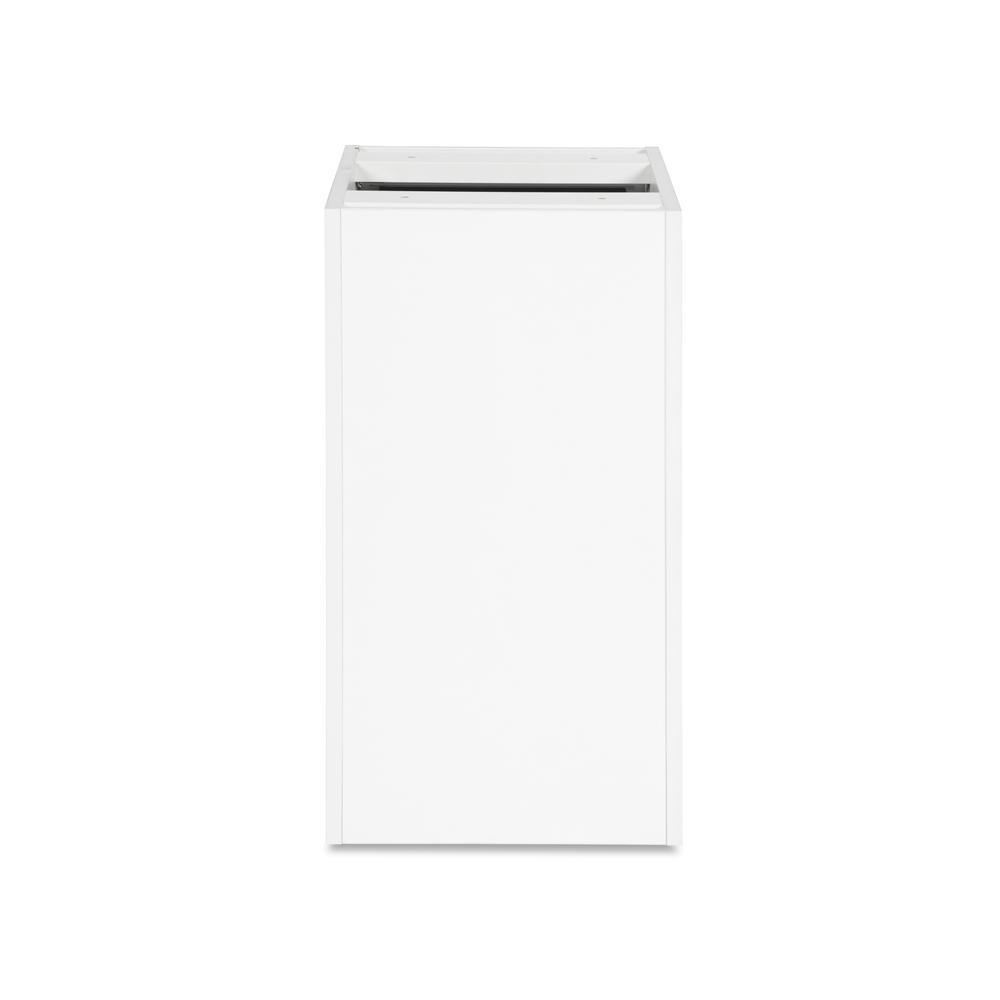 OFM Fulcrum Series Locking Pedestal, 3-Drawer Filing Cabinet, White (CL-BBF-WHT). Picture 3