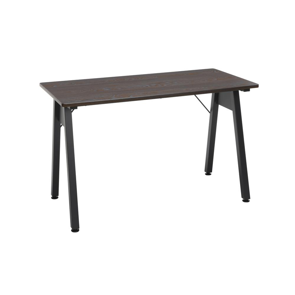 "OFM Essentials Collection 48"" Table Desk, in Wenge Woodgrain (ESS-1050-BLK-WEN). The main picture."