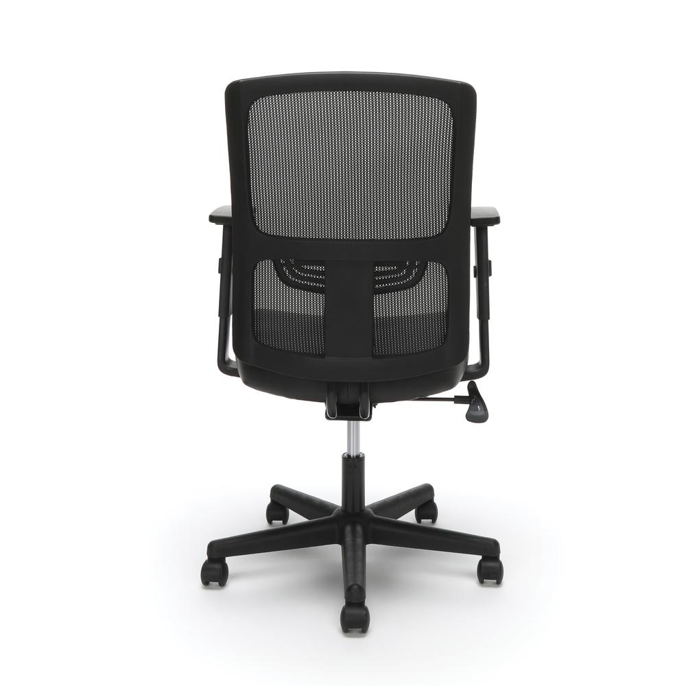 OFM ESS-3048 Mesh Back Chair with Bonded Leather Seat. Picture 3