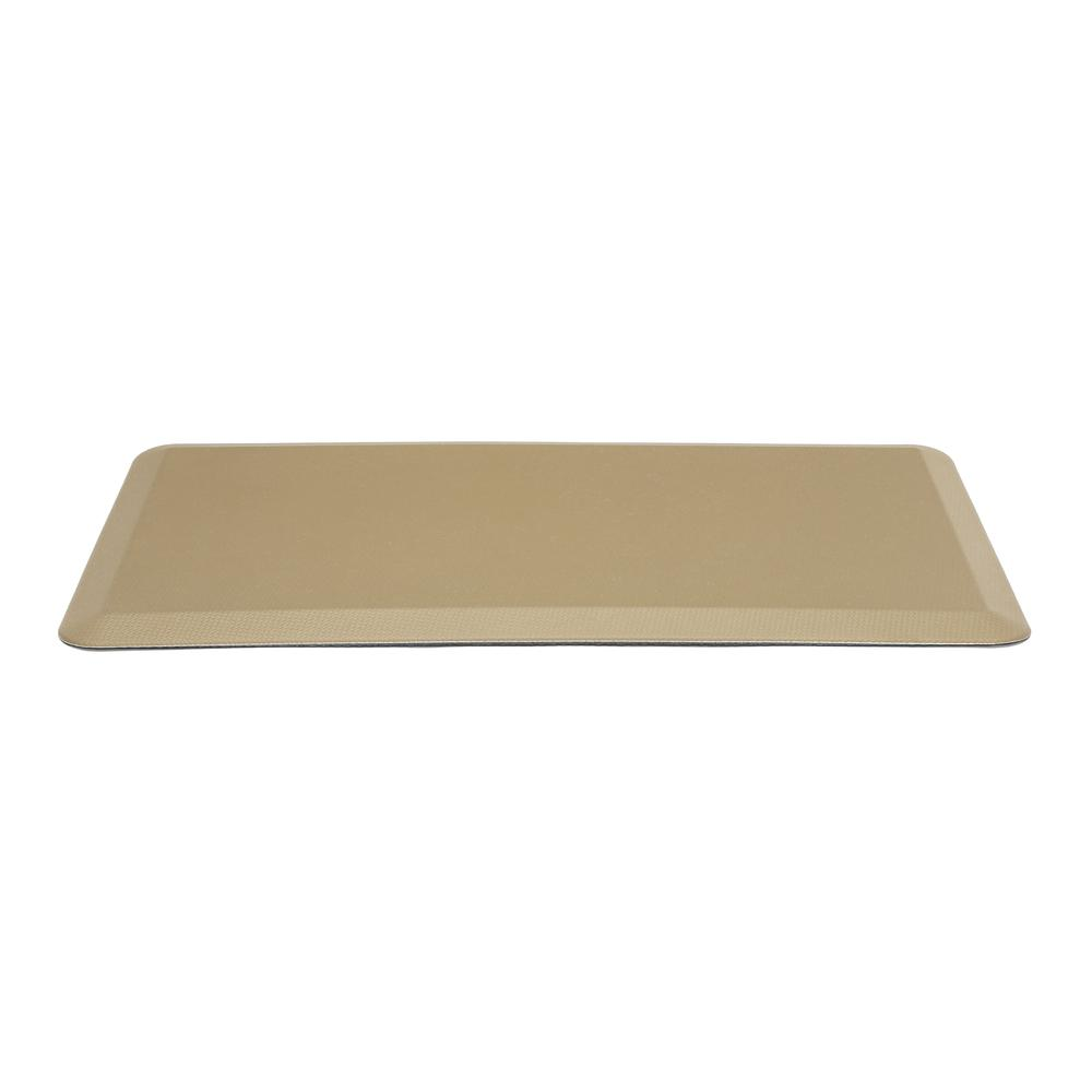 "Essentials by OFM ESS-8820 20"" x 36"" Anti-Fatigue Comfort Mat, Tan. Picture 2"