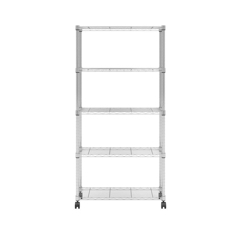 OFM Adjustable Wire Shelving Unit 30 x 60, in Chrome (S306014-CHRM). Picture 3