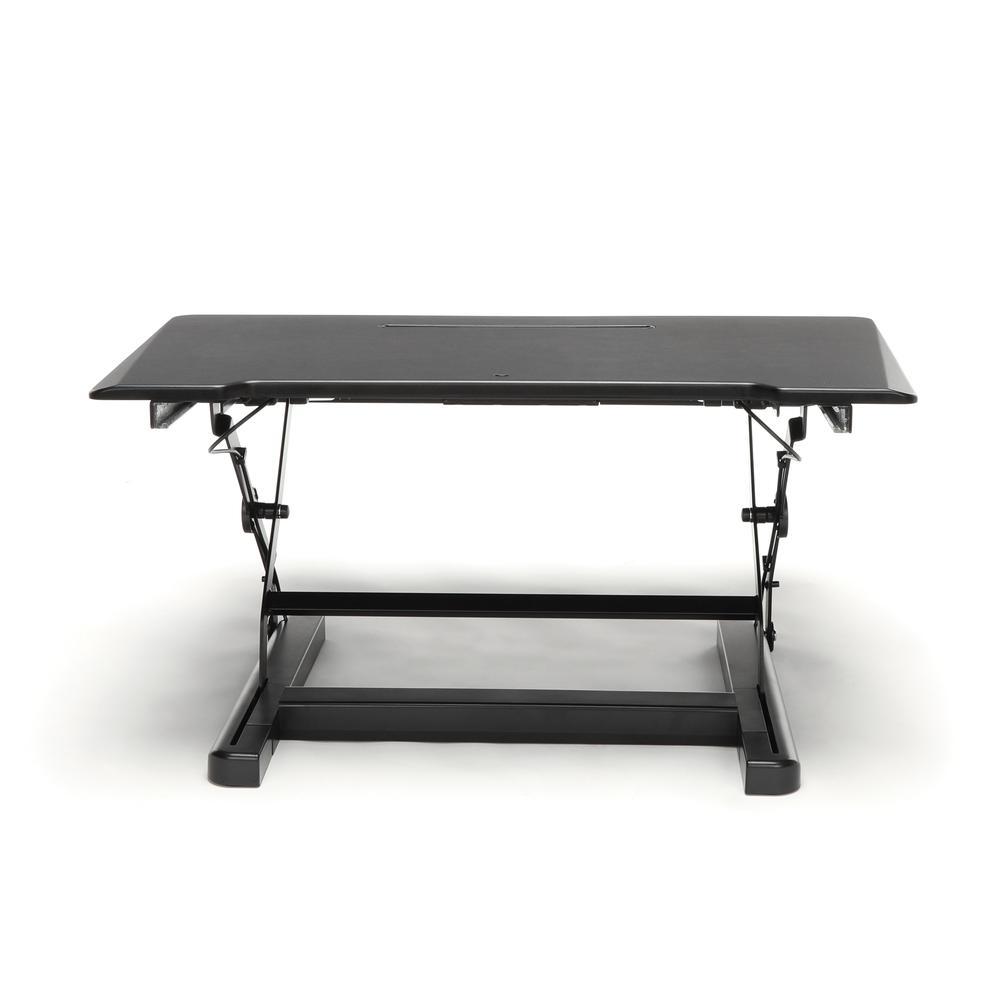 OFM Collection Adjustable Desktop Riser, Standing Desk Converter. Picture 3