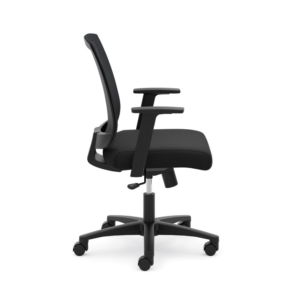 HON Torch Mesh Task Chair - Mid-Back Office Chair,  Black  (HVL511). Picture 4