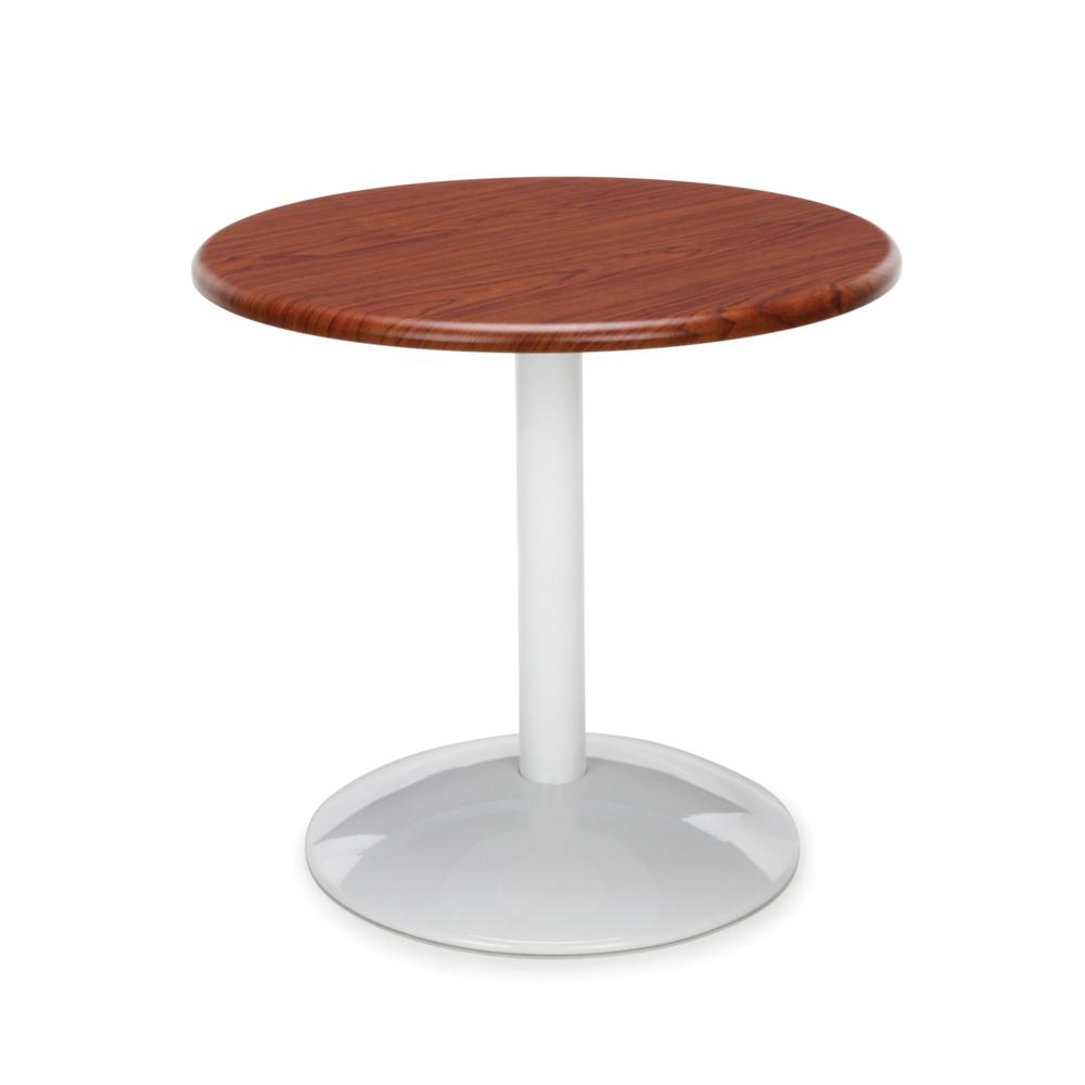 """OFM Orbit Series Model OT24RD 24"""" Round Table, Cherry. Picture 1"""