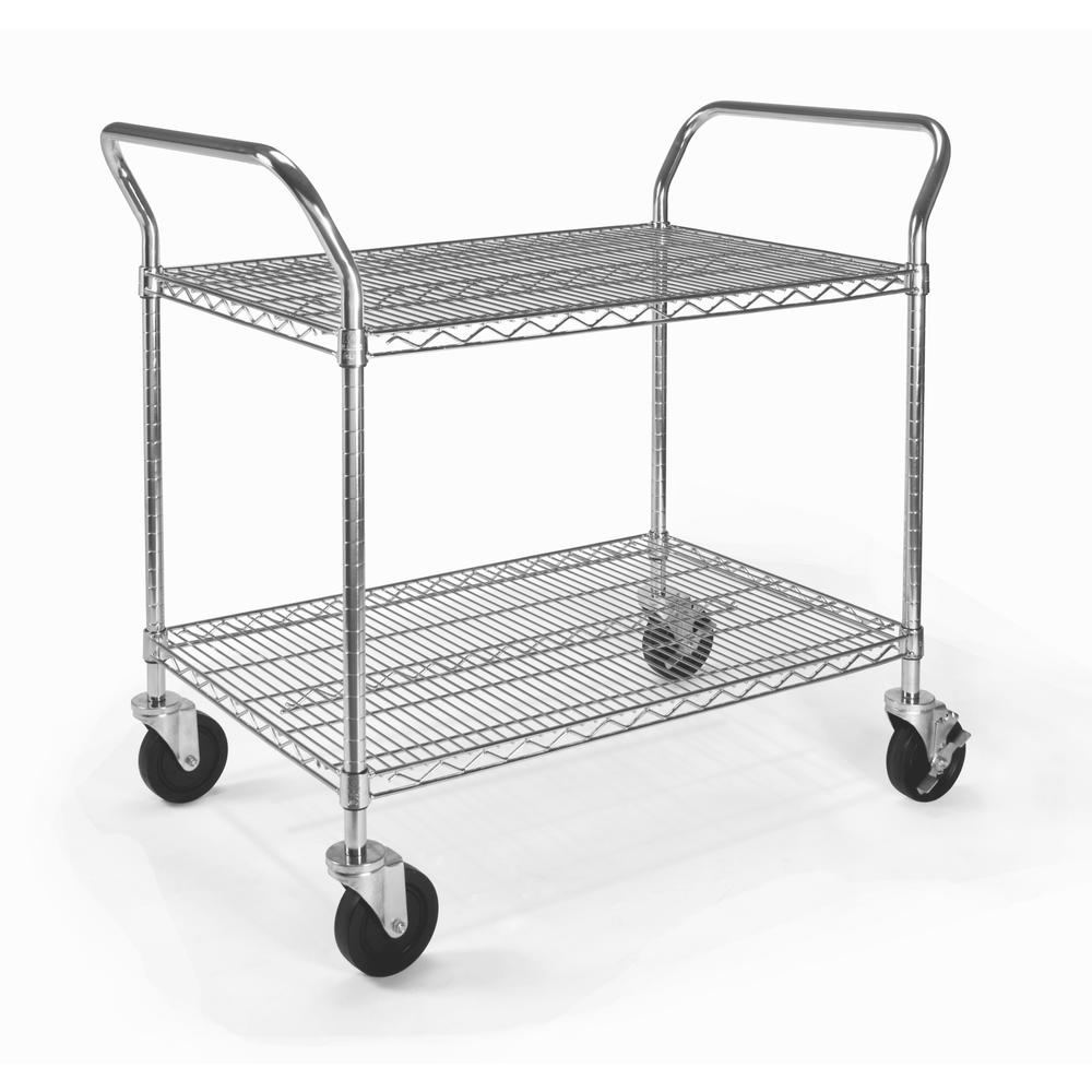 """OFM Core Collection Model SHCART2436 24"""" X 36"""" Heavy Duty Mobile Cart. Picture 1"""