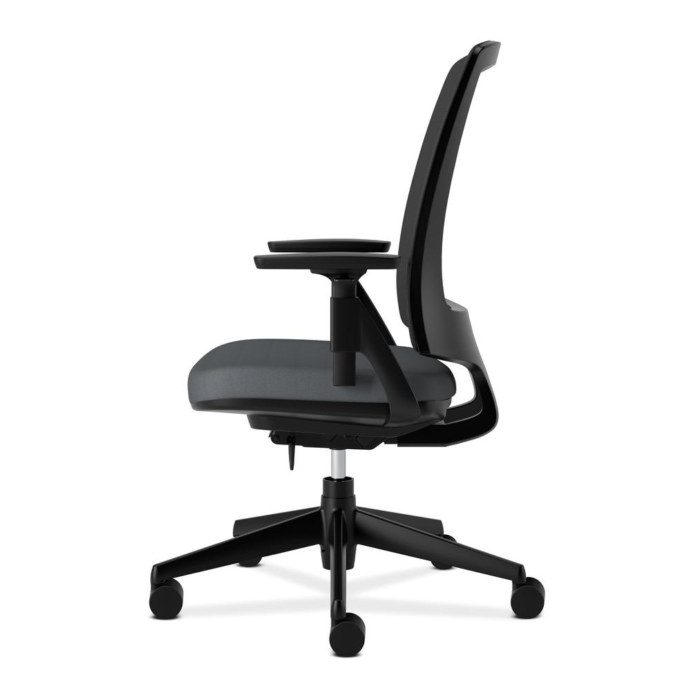 HON Lota Office Chair - Mid Back Mesh Desk Chair or Conference Room Chair, Charcoal (H2281)