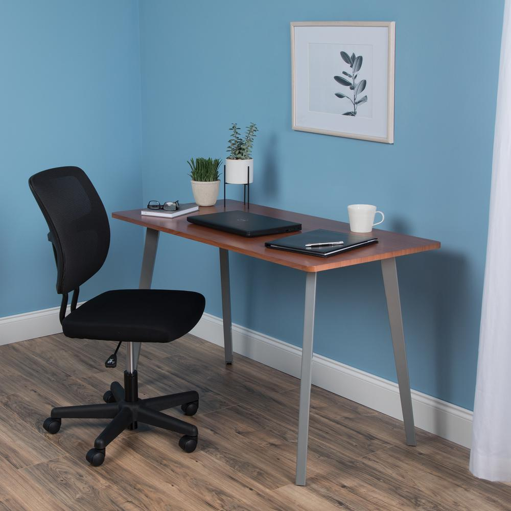 """OFM Core Collection 48"""" Computer Desk, in Cherry (1048-SLV-CHY). Picture 7"""
