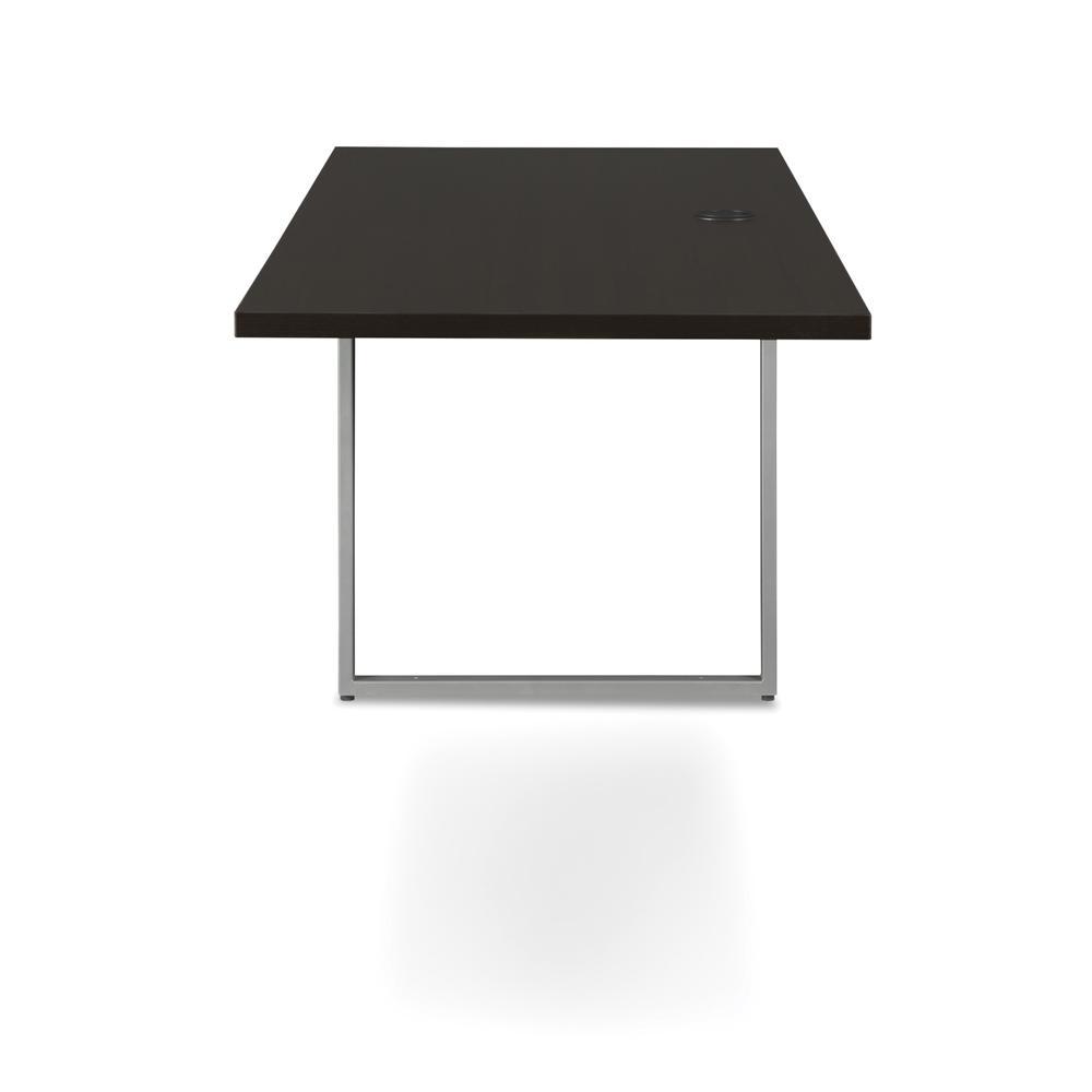 OFM Fulcrum Series 66x24 Credenza Desk, Desk Shell for Office, Espresso (CL-C6624-ESP). Picture 5