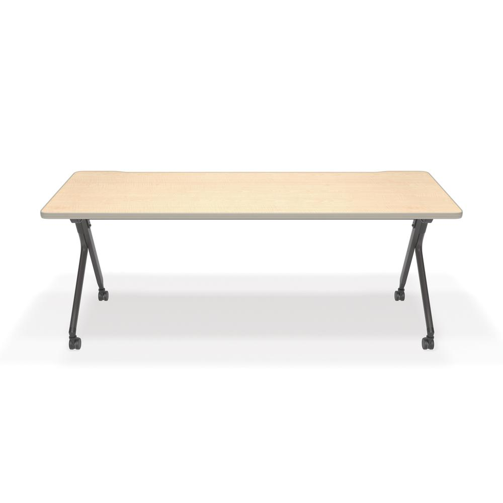 Flip Nesting Training Table and Desk, Maple. Picture 2