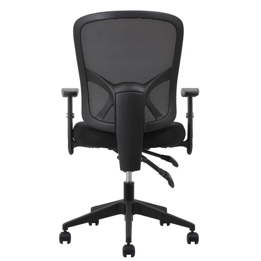 OFM ESS-3050 3-Paddle Mesh High-Back Task Chair with Arms and Support. Picture 3