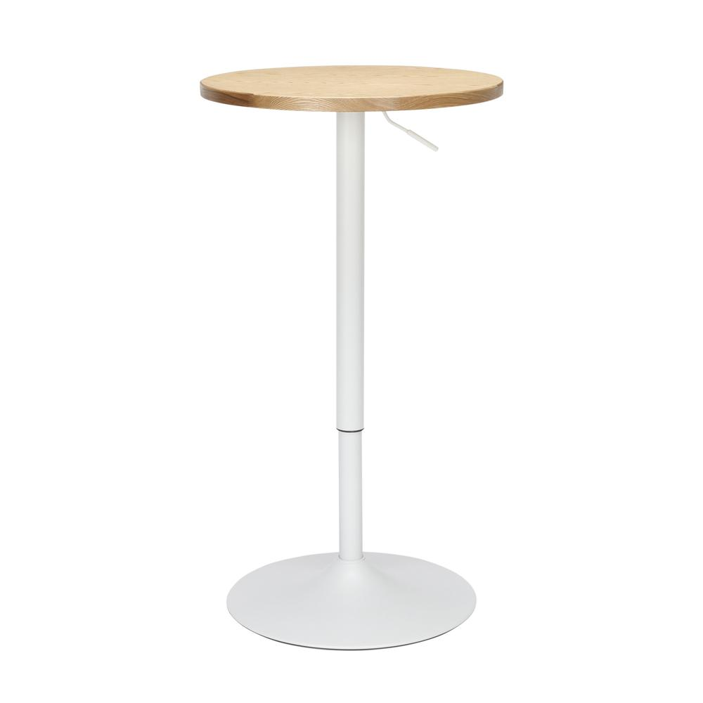 "The OFM 161 Collection Industrial Modern 33"" to 42"" Adjustable Pub Table provides a blank canvas that pairs beautifully with any of the stool seating from the 161 Collection. The pub table's height ad. Picture 2"