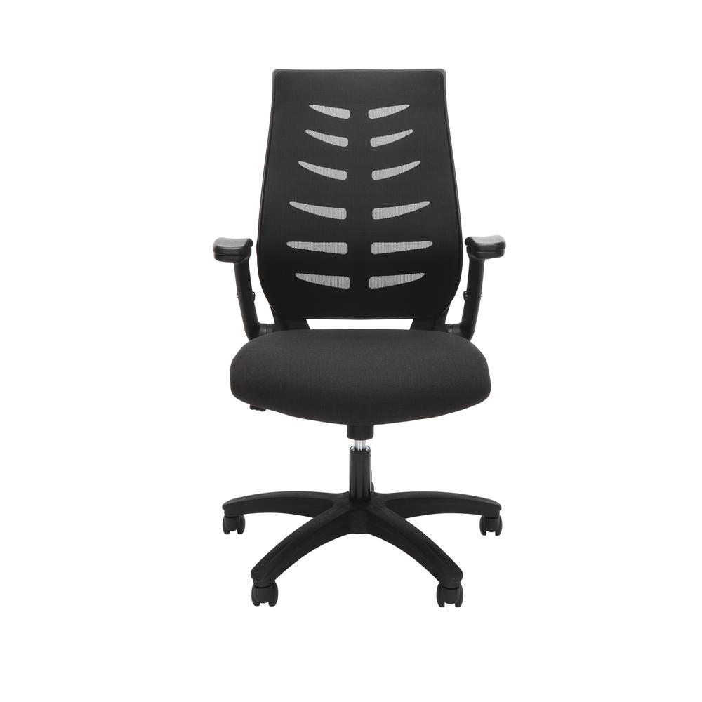 OFM Model 530-BLK Core Collection Midback Mesh Office Chair for Computer Desk, Black. Picture 2