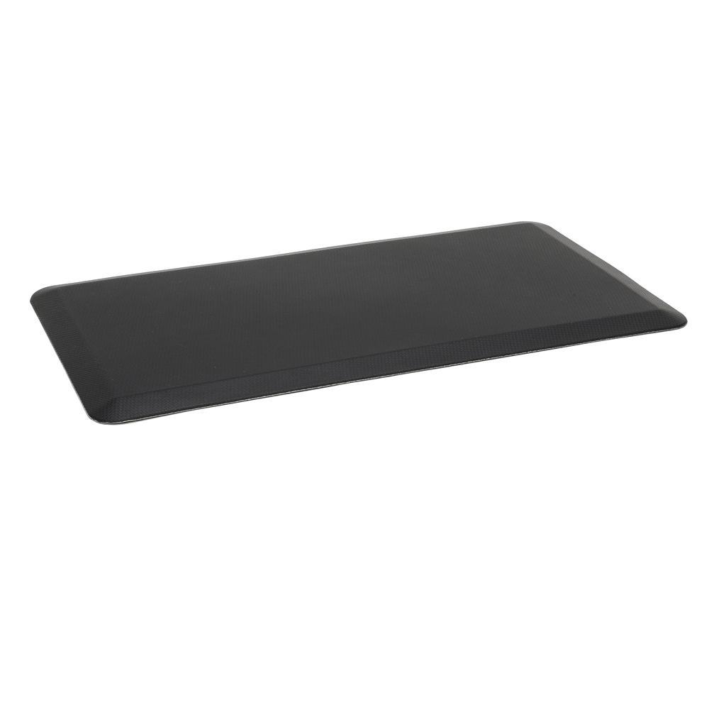 "Essentials by OFM ESS-8820 20"" x 36"" Anti-Fatigue Comfort Mat, Black. Picture 1"