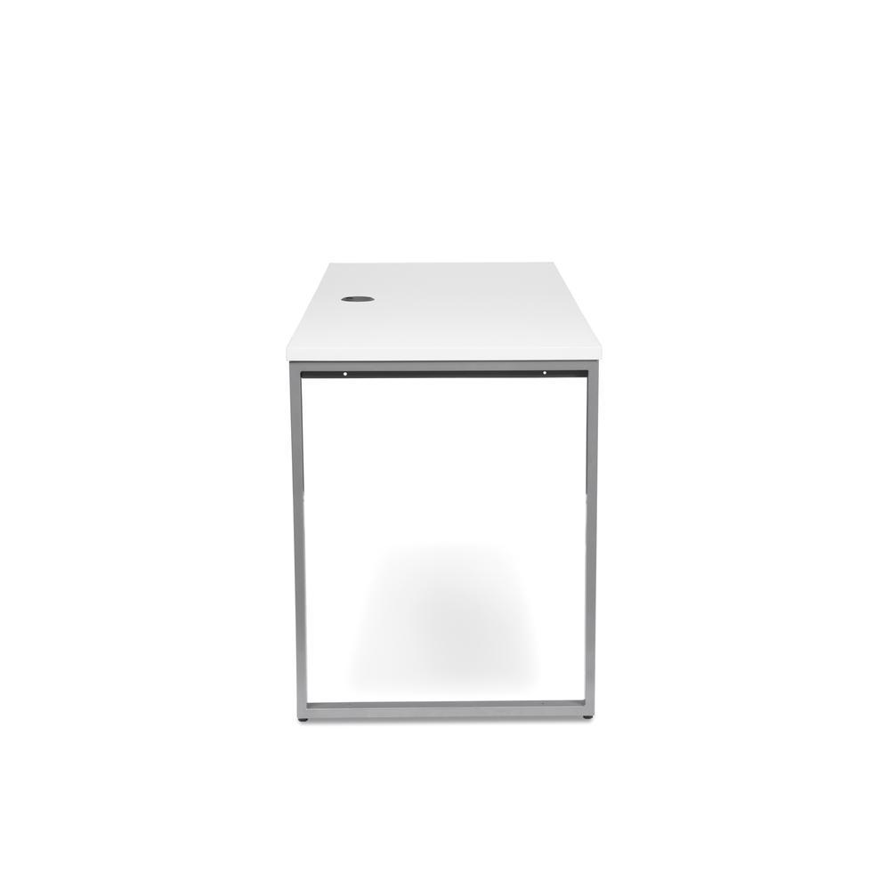 OFM Fulcrum Series 60x24 Credenza Desk, Desk Shell for Office, White (CL-C6024-WHT). Picture 4