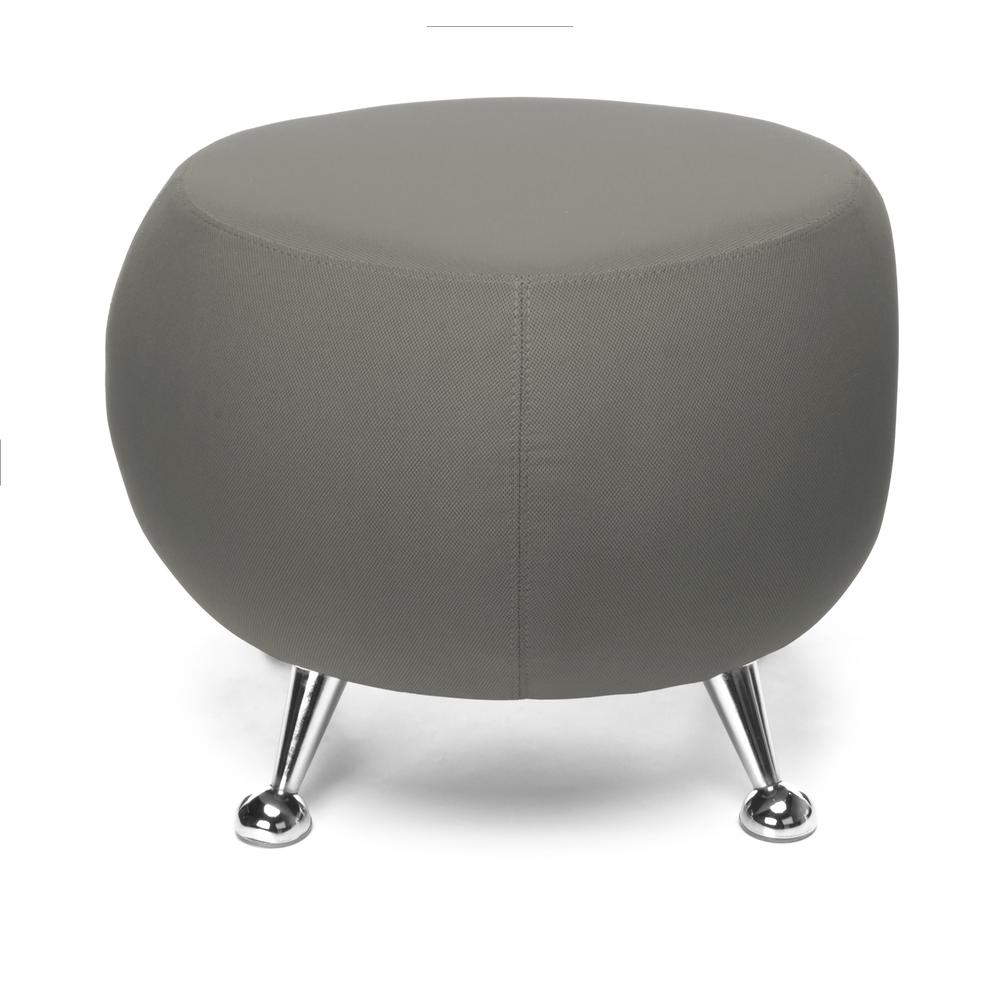 OFM Jupiter Series Fabric Ball Stool, in Gray (2001-2315). Picture 3