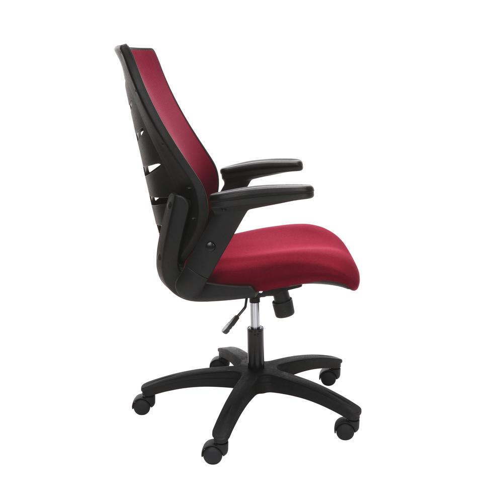 OFM Model 530-BURG Core Collection Midback Mesh Office Chair for Computer Desk, Burgundy. Picture 4