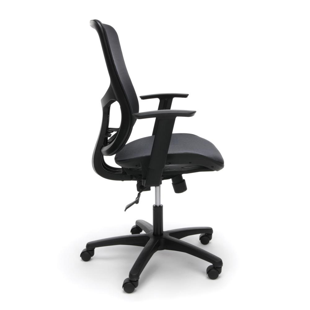 OFM Model ESS-3055 Collection Mesh Seat Office Chair with Arms , Support
