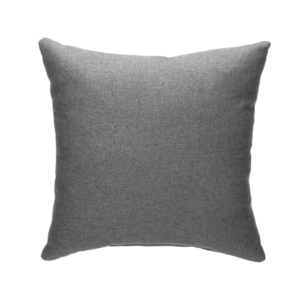 161 Collection Mid Century Modern 2-Pack 18 x 18 Accent Pillows, Dark Gray. Picture 2