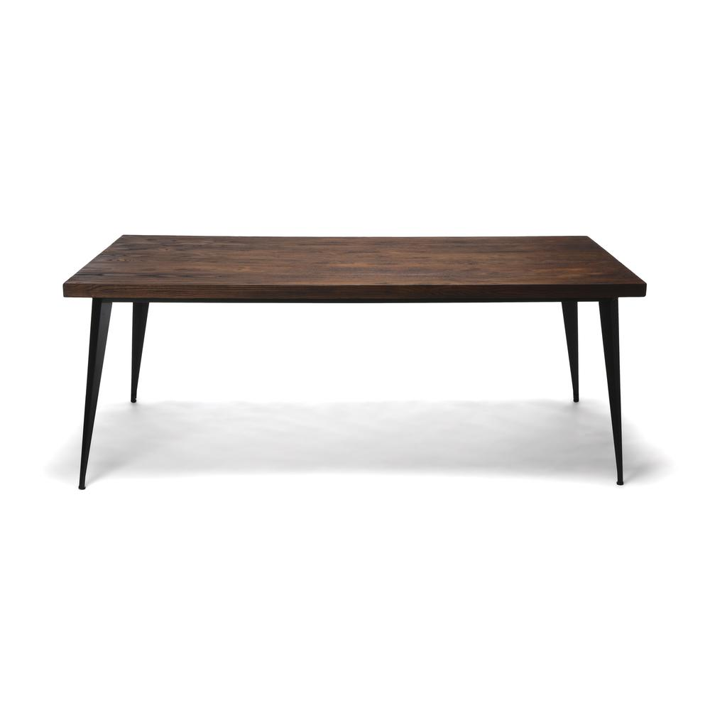 "OFM Edge Series 78"" Modern Wood Conference Table - Walnut (33378-WLT). Picture 2"