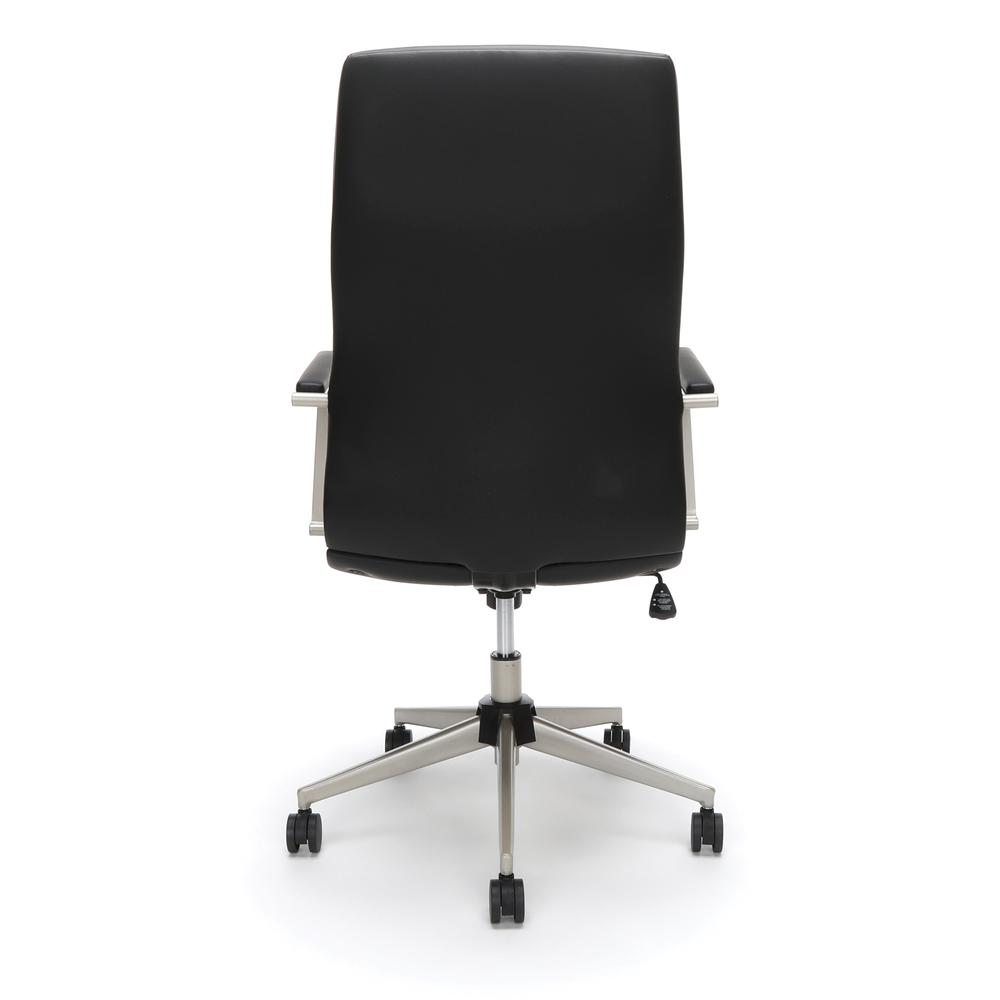 OFM Model 567 High-Back Bonded Leather Manager's Chair, Black. Picture 3