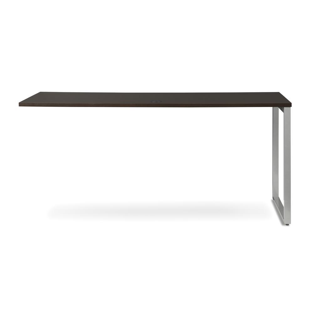 OFM Fulcrum Series 66x24 Credenza Desk, Desk Shell for Office, Espresso (CL-C6624-ESP). Picture 3