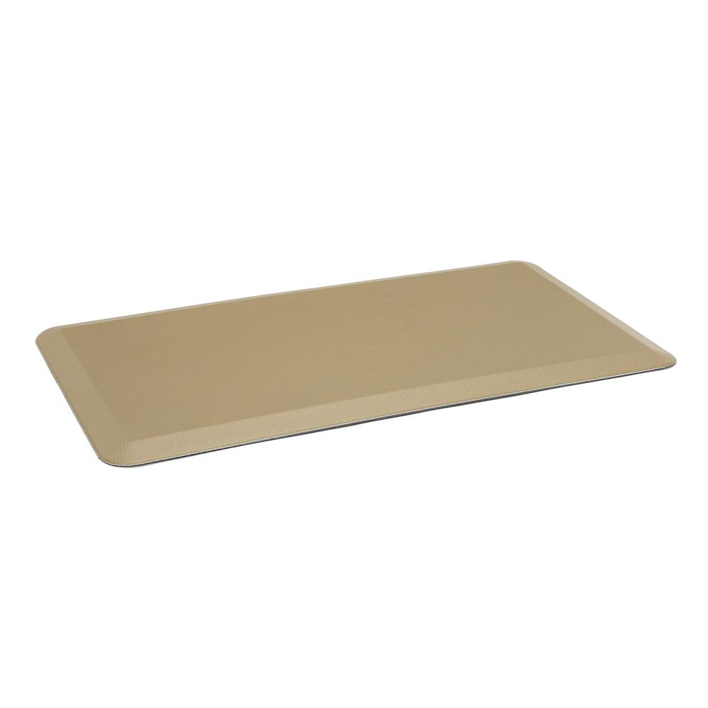 "Essentials by OFM ESS-8820 20"" x 36"" Anti-Fatigue Comfort Mat, Tan. Picture 1"