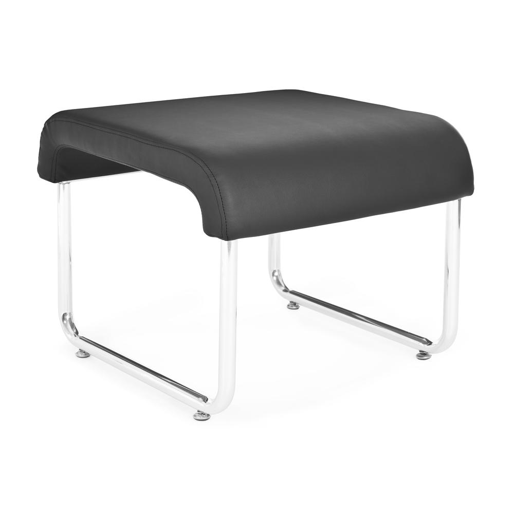 OFM Uno Series Model 422 Backless Seat, Polyurethane, Black. Picture 1