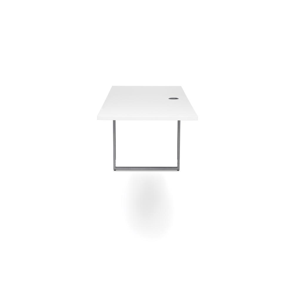 OFM Fulcrum Series 66x24 Credenza Desk, Desk Shell for Office, White (CL-C6624-WHT). Picture 5
