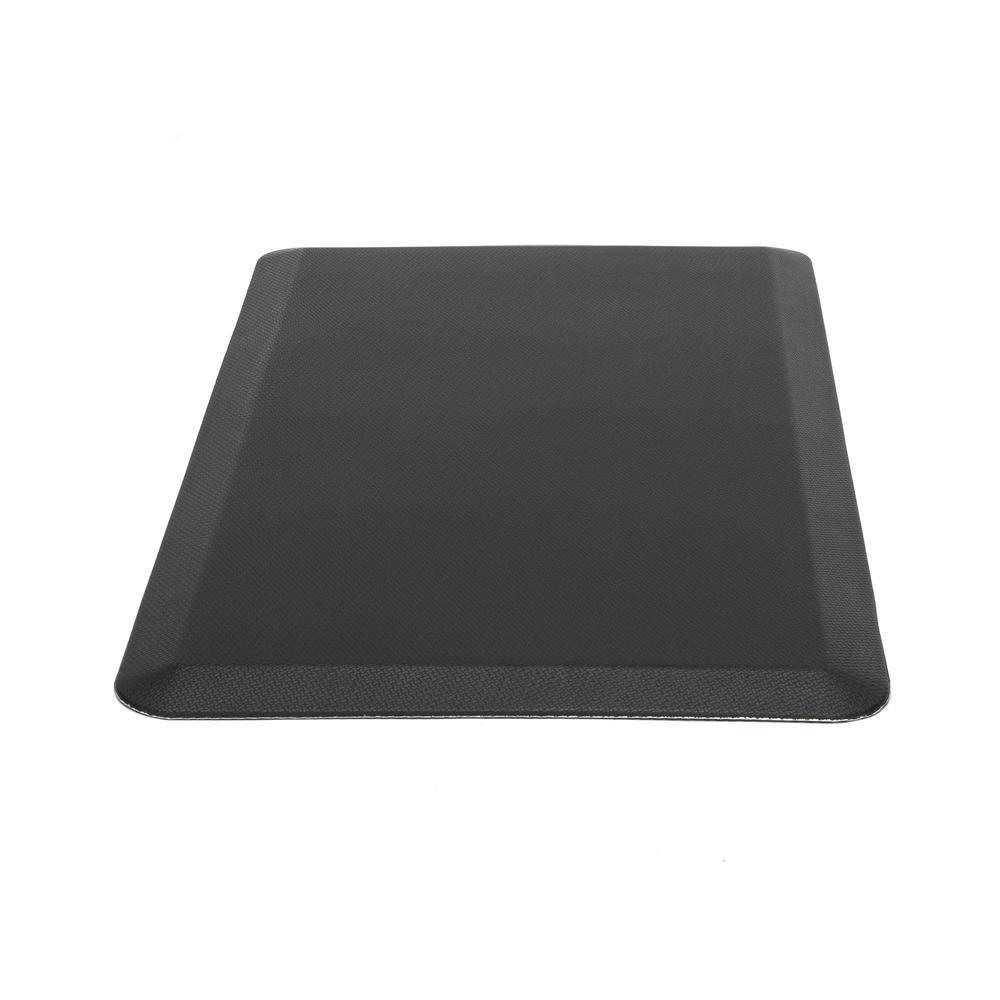 "Essentials by OFM ESS-8820 20"" x 36"" Anti-Fatigue Comfort Mat, Black. Picture 4"